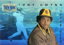 1993 Upper Deck Baseball Then and Now Tony Gwynn 260x184 Image