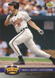1993 Upper Deck Baseball Triple Crown Contenders Cal Ripken 213x300 Image