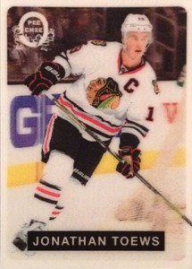 2014-15 O-Pee-Chee Hockey 3-D 7 Jonathan Toews