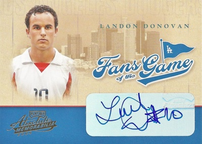 2004 Playoff Absolute Fans of the Game Autographs Landon Donovan #251