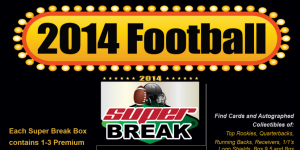 2014 Super Break Deluxe Edition Football Boxes