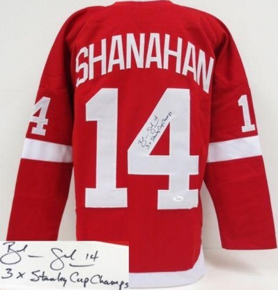 Brendan Shanahan Detroit Red Wings Signed Jersey