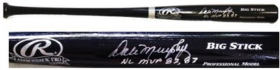 Dale Murphy Atlanta Braves Signed Bat