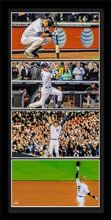 Derek Jeter New York Yankees Farewell Captain Framed Collage