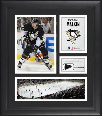 Evgeni Malkin Pittsburgh Penguins Collage with Game-Used Puck