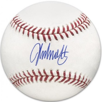 John Smoltz Atlanta Braves Signed Baseball
