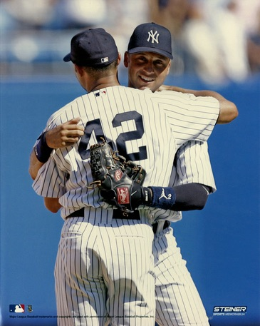 Mariano Rivera, Derek Jeter New York Yankees Photo
