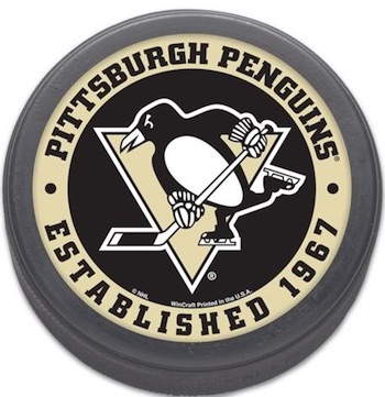 Pittsburgh Penguins Puck