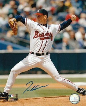 Tom Glavine Atlanta Braves Signed Photo