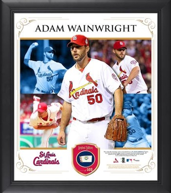 Adam Wainwright St.Louis Cardinals Framed Collage