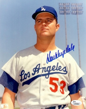 Don Drysdale Los Angeles Dodgers Signed Photo