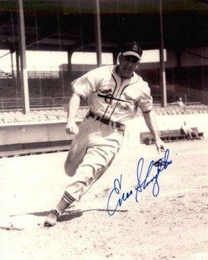 Enos Slaughter St. Louis Cardinals Signed Photo