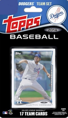 Los Angeles Dodgers Team Card Sets