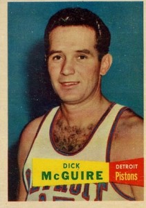 1957-58 Topps Dick McGuire RC #16
