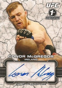 2013 Topps UFC Bloodlines Conor McGregor Autograph