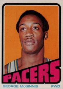 1972-73 Topps George McGinnis RC #183