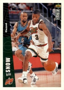 1996-97 Collector's Choice Eric Snow RC #337