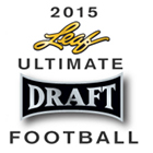 2015 Leaf Ultimate Draft Football Cards