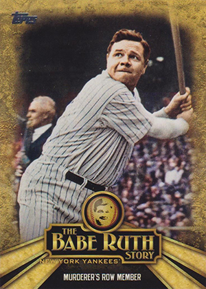 2015 Topps Babe Ruth Story