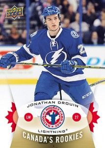 2015 Upper Deck National Hockey Card Day Canada Drouin