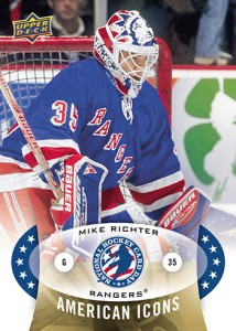 2015 Upper Deck National Hockey Card Day USA American Icons