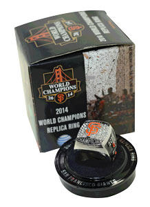San Francisco Giants 2014 World Series Ring Replica