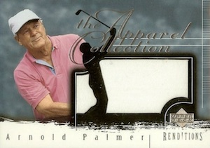 2003 Upper Deck Renditions Apparel Collection Arnold Palmer