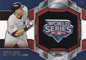 2015 Topps Series 2 Baseball Commemorative Patch Pins Jeter