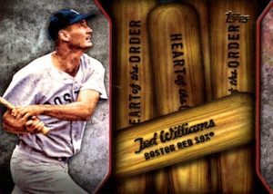 2015 Topps Series 2 Baseball Heart of the Order Ted Williams