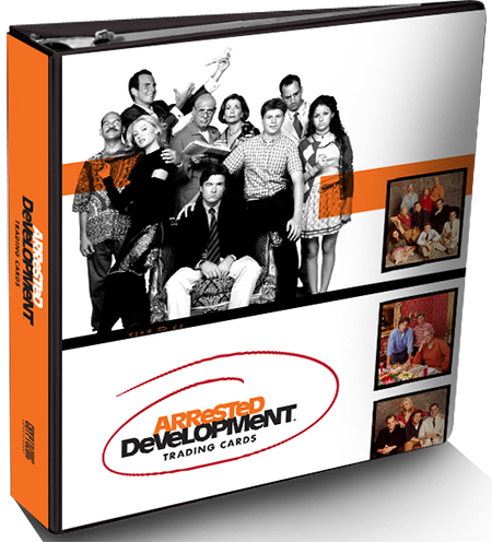 2015 Cryptozoic Arrested Development Binder