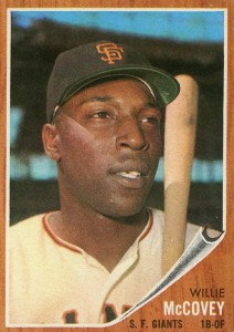 1962 Topps Willie McCovey #544