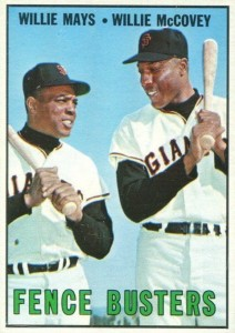 1967 Topps Willie McCovey #423