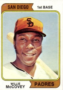 1974 Topps Willie McCovey #250