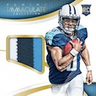 2015 Panini Immaculate Football Cards
