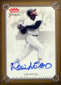 Willie McCovey 2004 Fleer Greats of the Game