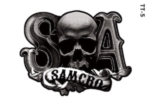2015 Cryptozoic Sons of Anarchy Seasons 6 and 7 Temporary Tattoos