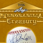 2016 Leaf Memorabilia Treasury