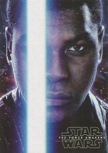 2016 Topps Star Wars The Force Awakens Series 2 Character Posters Finn