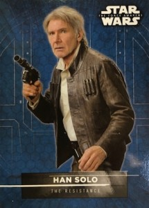 2016 Topps Star Wars The Force Awakens Series 2 Character Stickers Han Solo