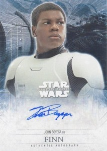2016 Topps Star Wars The Force Awakens Series 2 John Boyega as Finn