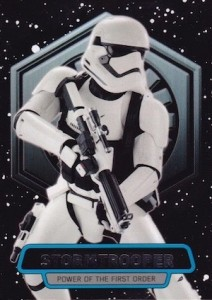 2016 Topps Star Wars The Force Awakens Series 2 Power of the First Order Stormtrooper