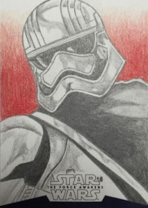 2016 Topps Star Wars The Force Awakens Series 2 Sketch
