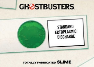 2016 Cryptozoic Ghostbusters Totally Fabricated Slime Cards