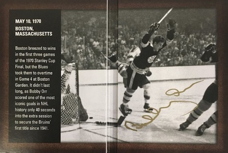 2015-16 SP Authentic Hockey Authentic Moments Booklet Autographs