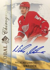 2015-16 SP Authentic Hockey Global Chirography