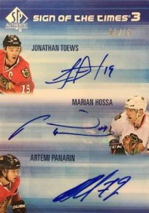 2015-16 SP Authentic Hockey Sign of the Times 3
