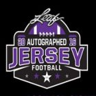 2016 Leaf Autographed Football Jersey