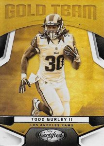 2016 Panini Certified Football Gold Team Gurley