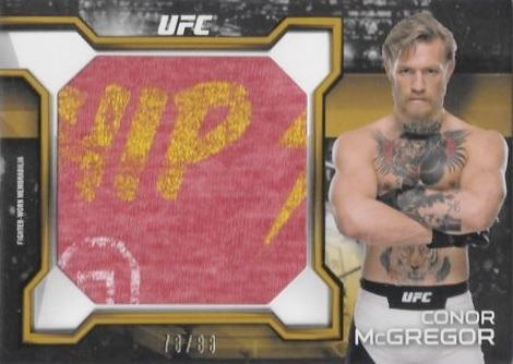 2016 Topps UFC Knockout Jumbo Relics Conor McGregor