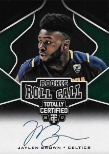 2016-17 Panini Totally Certified Basketball